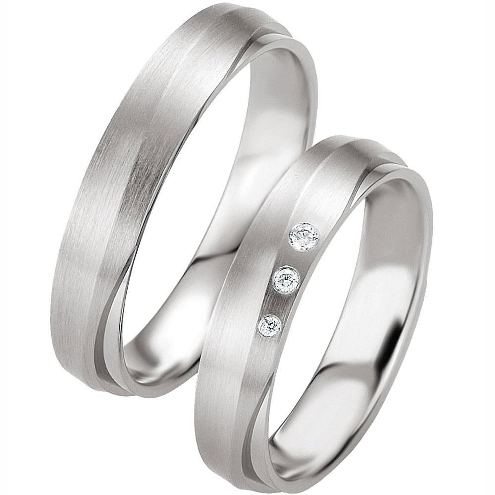 Gewissenhaft Zwei Trauringe Hochzeitsringe Eheringe Partnerringe Ringe Kostenlose Gravur. Echtschmuck Sonstige
