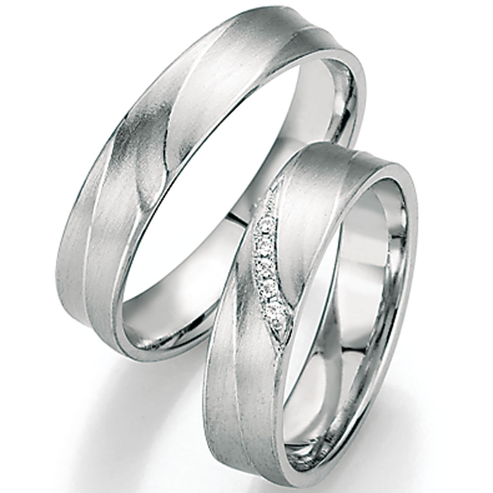 Ringe aus palladium oder platin