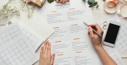 Checkliste standesamtliche Hochzeit: Eine frühe Planung für eine stressfreie Hochzeit