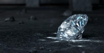 Fluoreszenz bei Diamanten