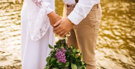 Green Wedding im Vintage-Look