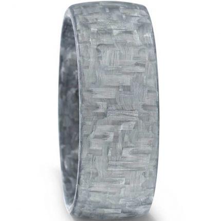 Herrenring 9951813/002/000/N002 aus grauem Carbon