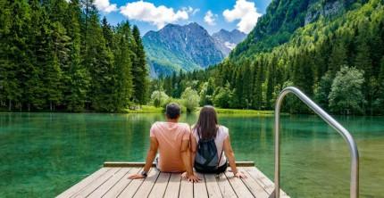 Nachhaltige Hochzeitsreise in die Berge