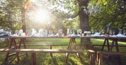 Schön & nachhaltig: die Deko für eine Green Wedding