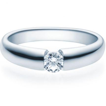 Verlobungsring 9918006 aus Platin 950 mit 0,25 ct Brillant