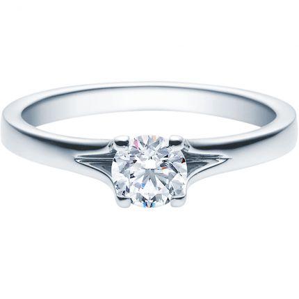 Verlobungsring 9918020 aus Weißgold mit 0,50 ct Brillanten