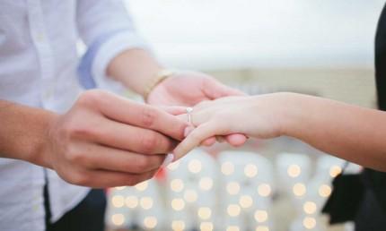 Damit der Heiratsantrag perfekt wird, können Sie mit einfachen Methoden heimlich die richtige Ringgröße messen.