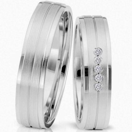 Ringpaar 991978 aus Silber